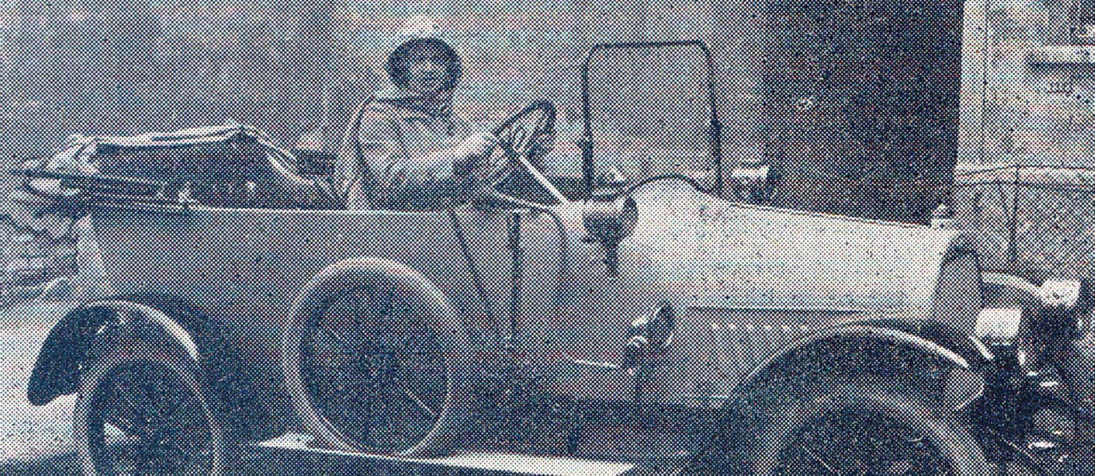 Alma Balley: prva hrvatska automobilistica