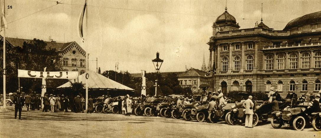 PRVI HRVATSKI AUTOMOBILNI KLUB: 1906.