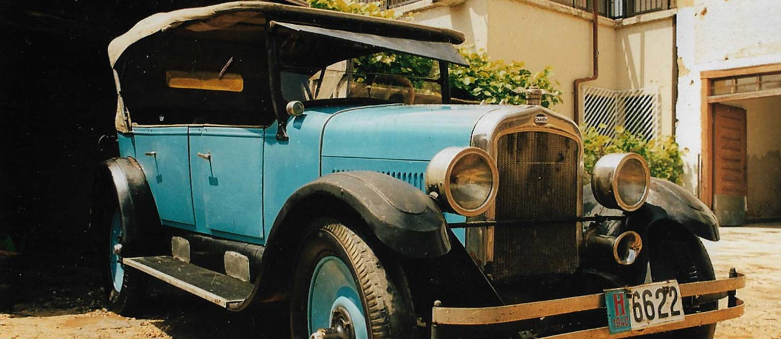 Oakland True Blue Six, 1925. - najstarije originalno hrvatsko pokretno kulturno dobro s pedigreom