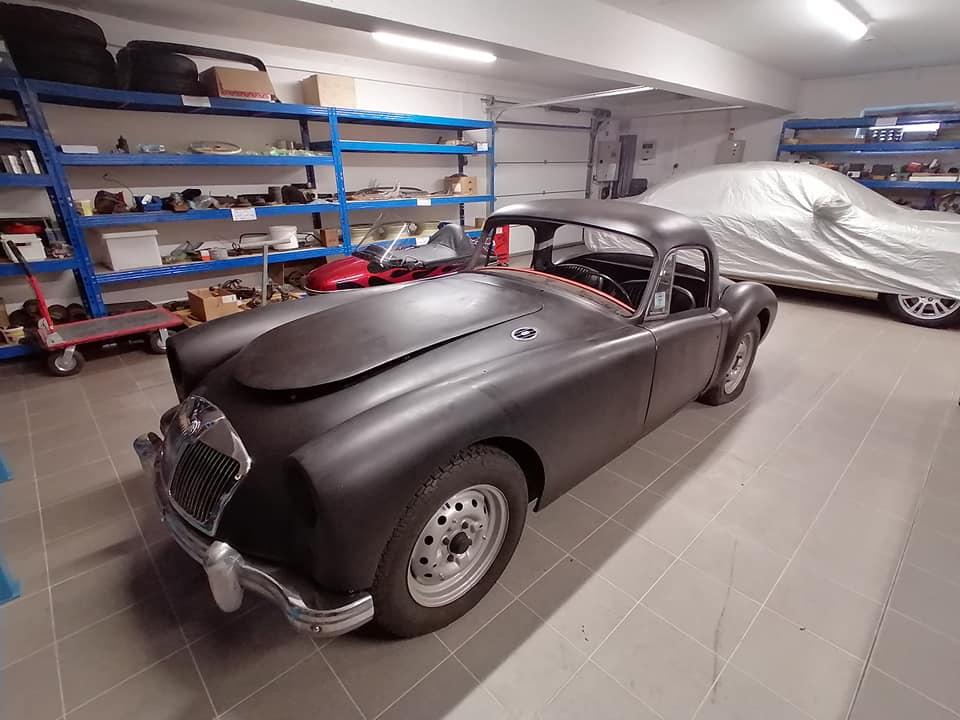 MG coupe -1958.