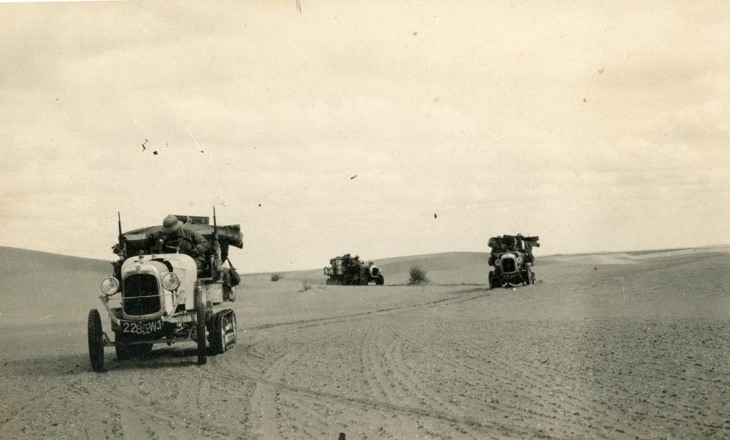 1922./23.g. - CITROEN GUSJENIČARI NA PUTU KROZ SAHARSKU PUSTINJU NA RUTI PARIZ - TIMBUKTU DUGOJ 3.200 KM